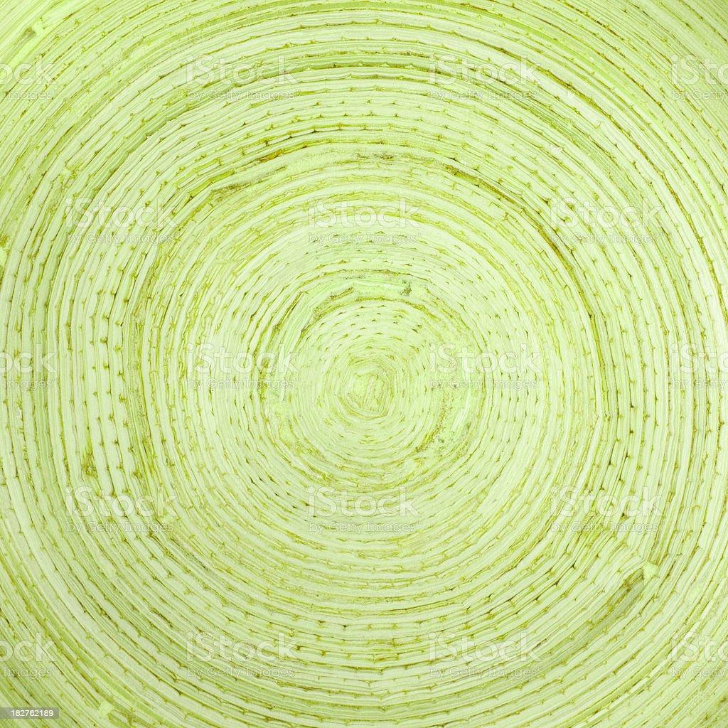 Green concentric circles royalty-free stock photo