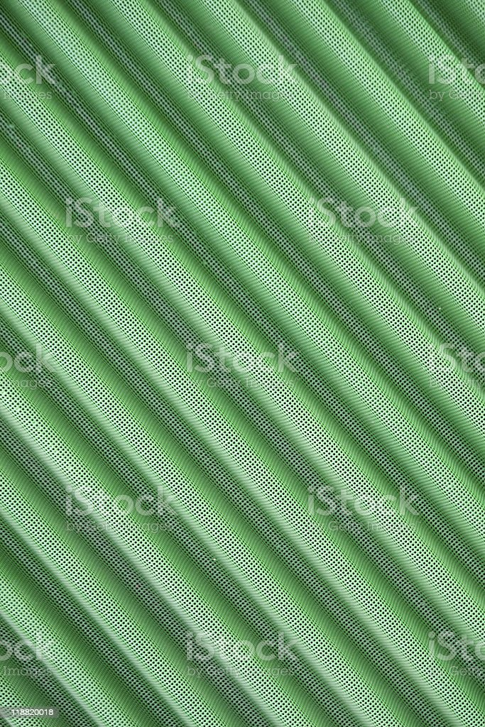 Green Corrugated Metal stock photo