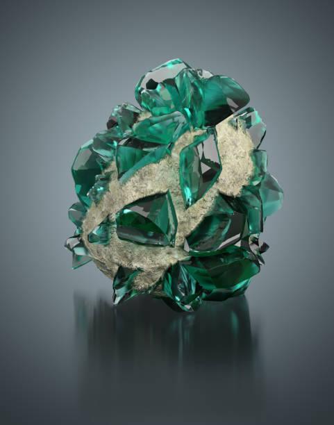 Cтоковое фото green crystal