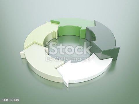istock Green cycle arrows 963130198