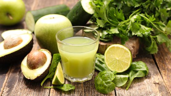 Green Detox Drink - Fotografie stock e altre immagini di Alimentazione sana