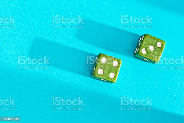 Green dice on blue show 7 lucky for some picture id180844376?b=1&k=6&m=180844376&s=612x612&h=u gamwymnccm7l37z377u6k6kacn5hsufmalzteqthk=