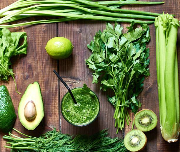 Green diet stock photo