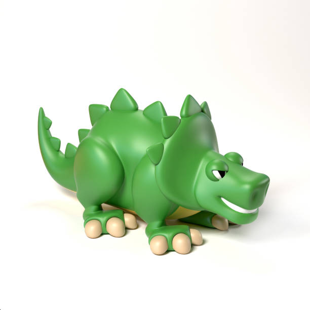 Green dinosaur toy 3d rendering isolated illustration on white picture id872635528?b=1&k=6&m=872635528&s=612x612&w=0&h=08jwyybvtzzqdwr6ew sigtchiay56r49ztp932c9be=