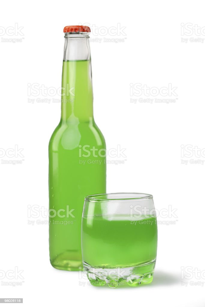 Green drink royalty-free stock photo