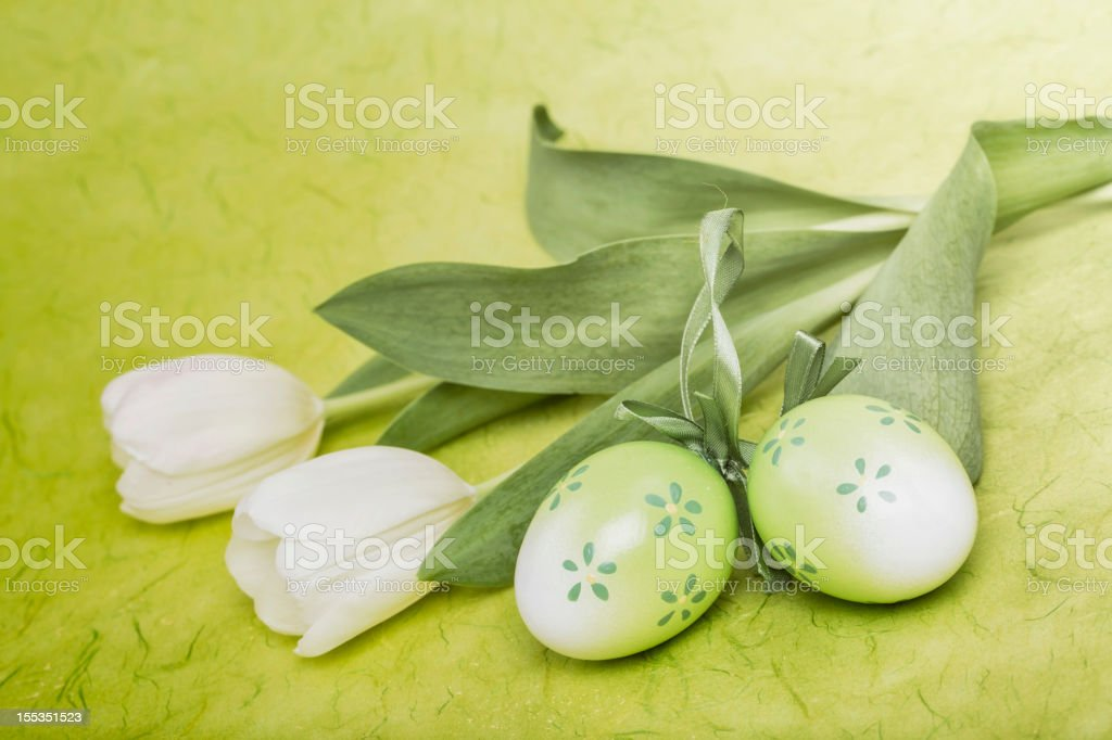 Green Easter royalty-free stock photo