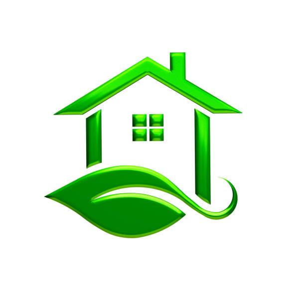 Green eco house logo 3d rendering illustration picture id679675942?b=1&k=6&m=679675942&s=612x612&w=0&h=mxbgnenbrk kuzme6jqcllyv xc1o8bhq3jqvfpg0u4=