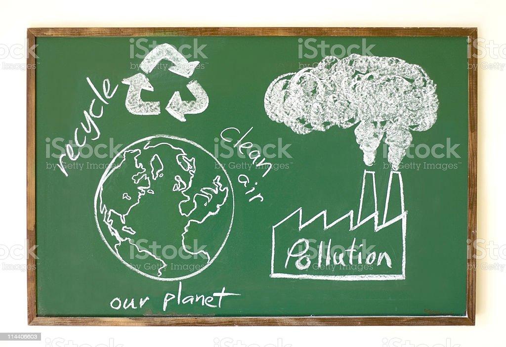 Green Education stock photo