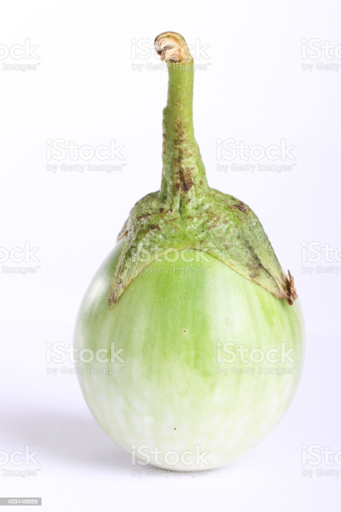 green eggplant royalty-free stock photo
