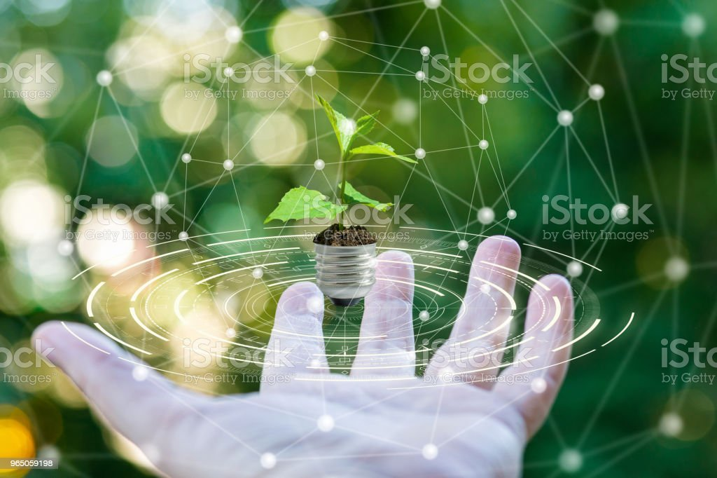 Green energy concept. royalty-free stock photo