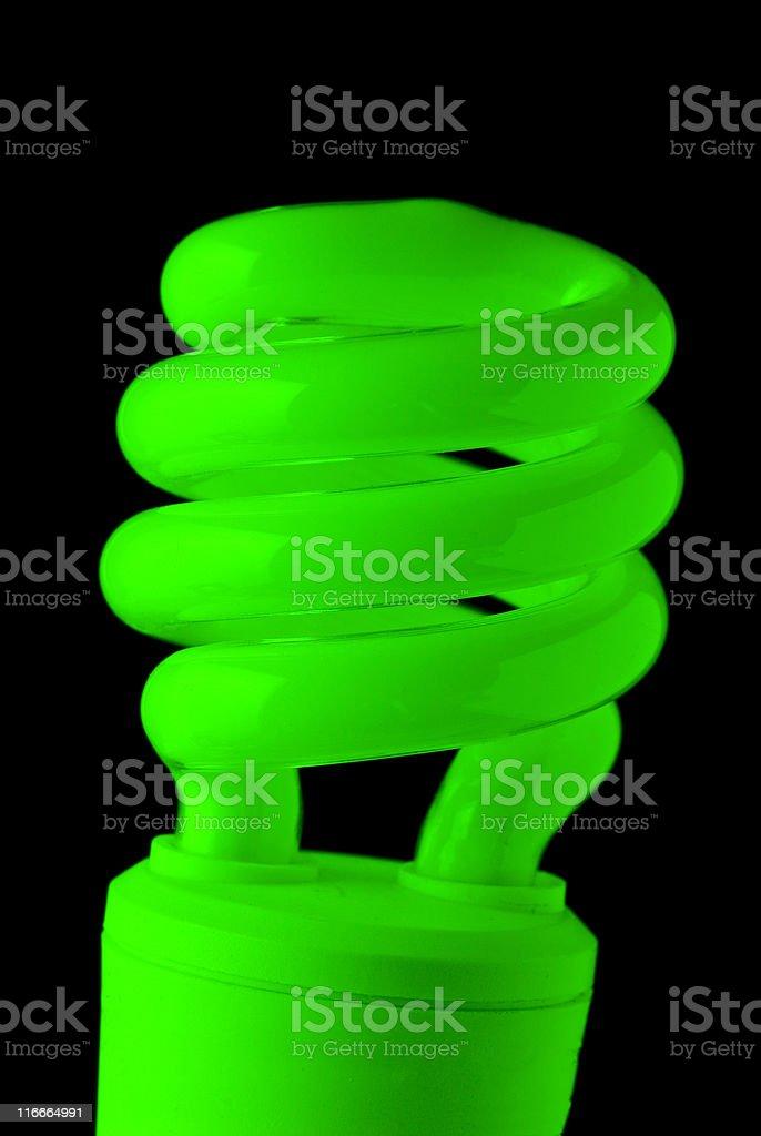 Green Energy Light stock photo