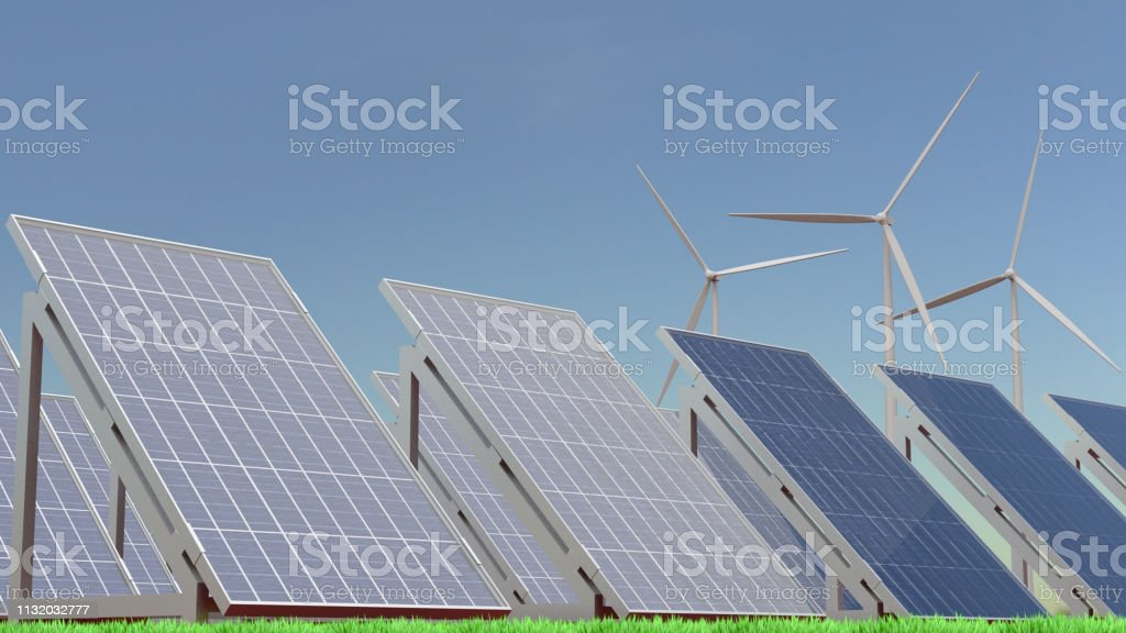 Green energy foto stock royalty-free