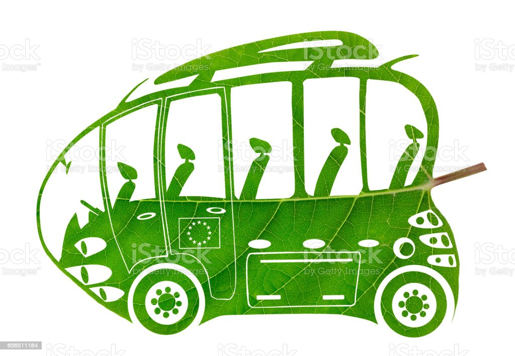 green euro eco bus isolated concept made from leaf stock photo rh istockphoto com Energy Bus Believe Quotes Energy Bus Quotes