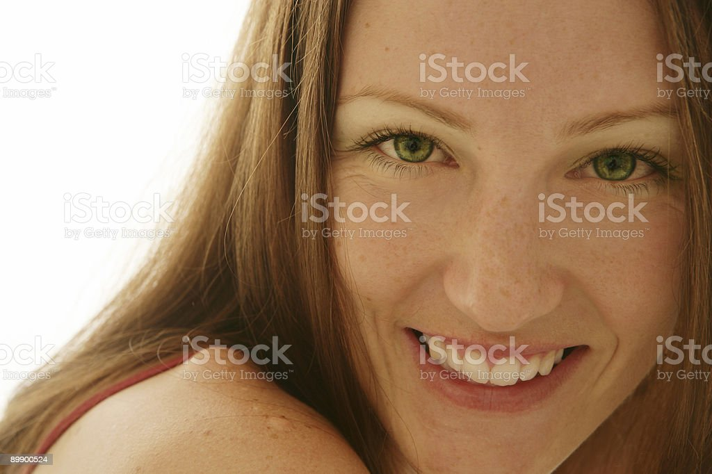 Green Eyes royalty-free stock photo