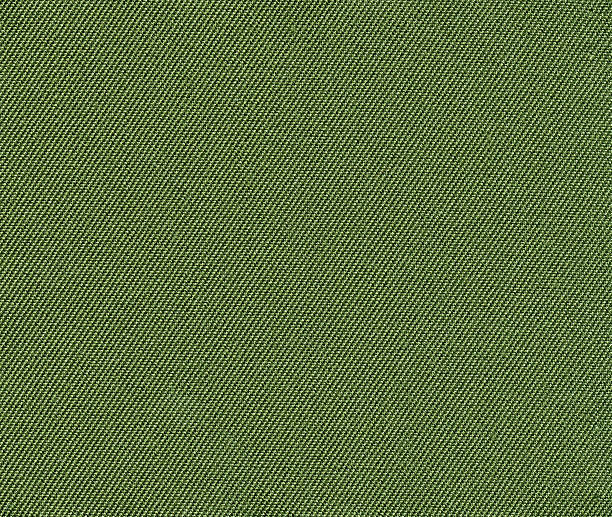 Green fabric background stock photo