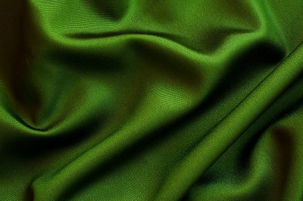 Grüne Stoff Nahaufnahme Hintergrund – Foto