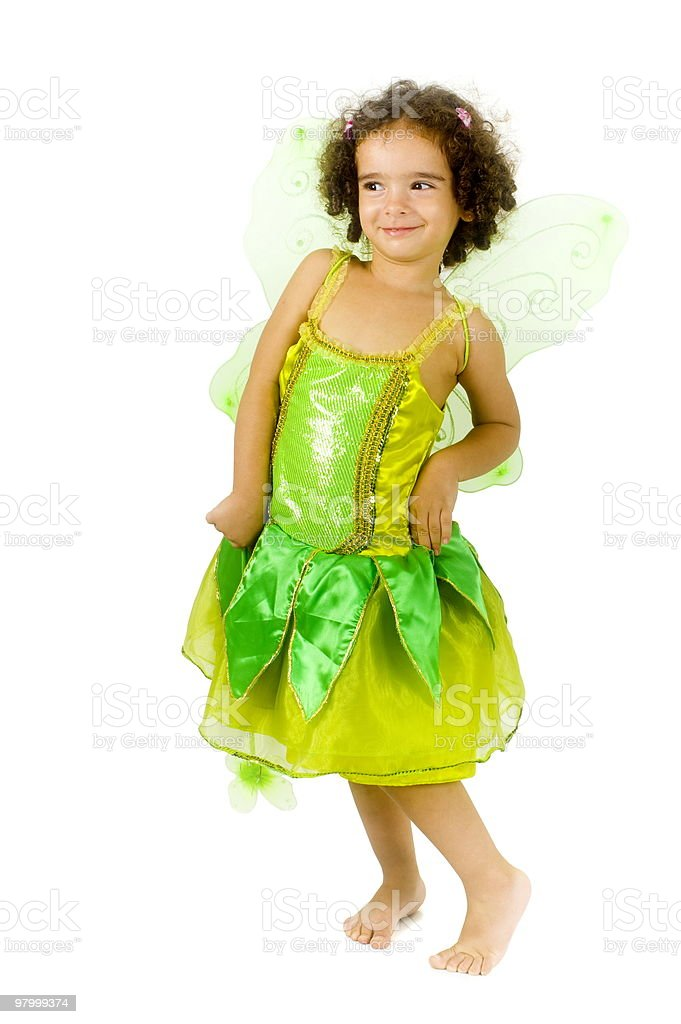 Green Fairy royalty free stockfoto