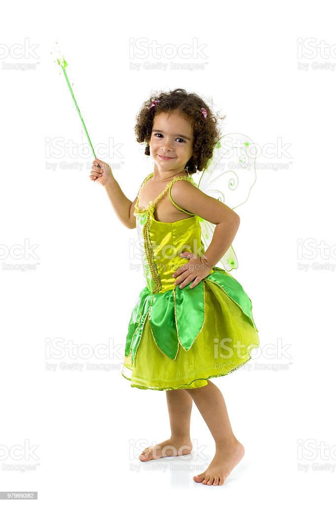 Green Fairy royalty-free stock photo