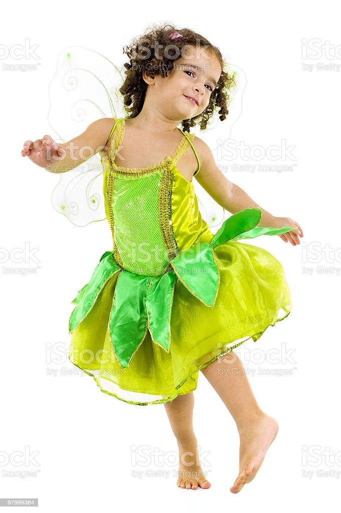 Green Fairy royalty-free stock photo