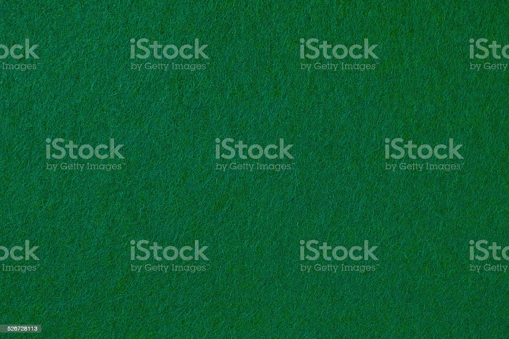 Green felt cloth stock photo