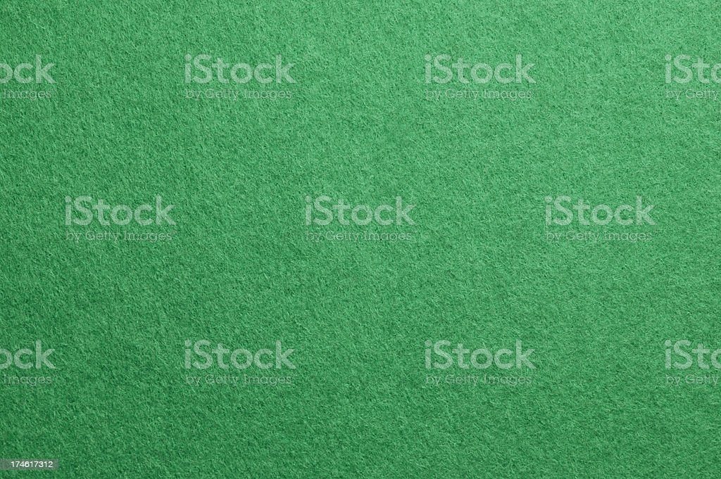 Green Felt Gambling Background stock photo