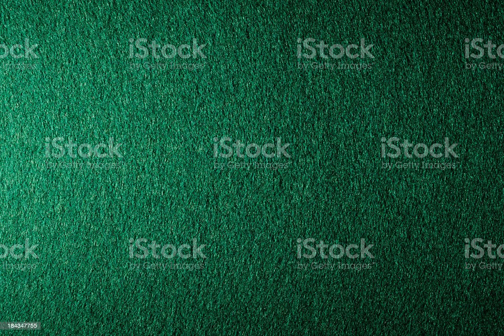 Green felt texture background stock photo