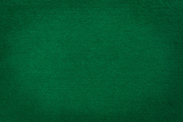green felt texture for casino background - felt textile stock pictures, royalty-free photos & images