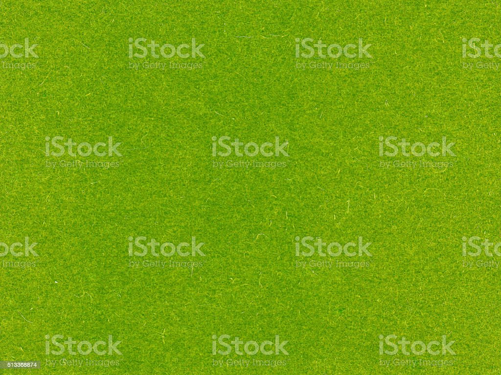 Green felt texture. stock photo