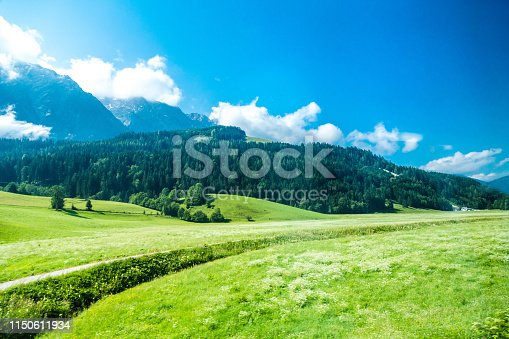 Agricultural Field, Landscape - Scenery, Blue, Sky, City