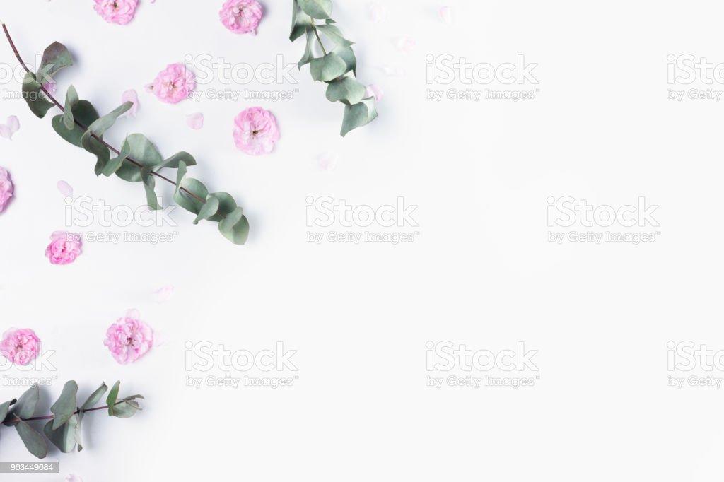 Composition florale verte - Photo de A la mode libre de droits