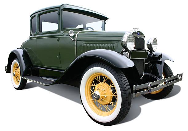 grün ford model a - oldtimer stock-fotos und bilder