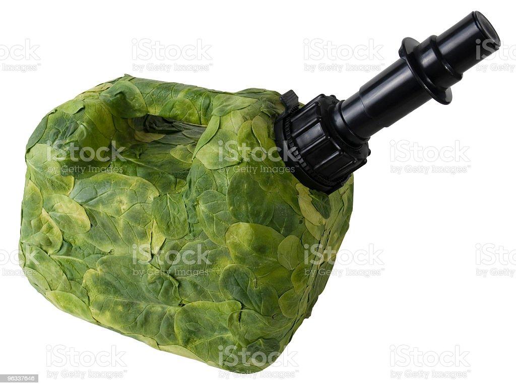 Green paliwa - Zbiór zdjęć royalty-free (Benzyna)