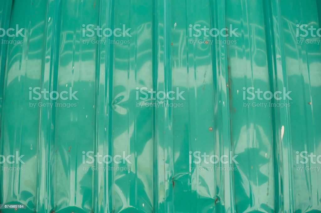 green galvanize metal for texture and background stock photo