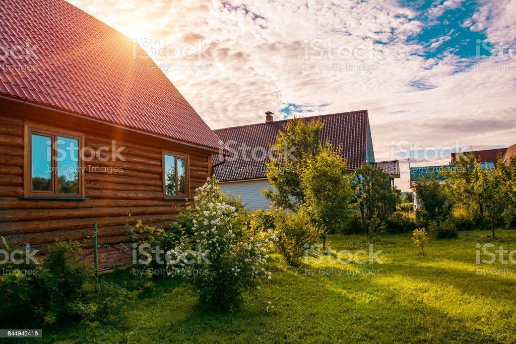 Garten im Landhaus – Foto