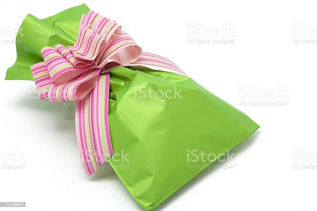 green gift royalty-free stock photo