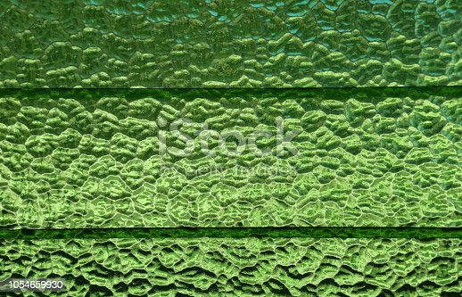 Green Sheet Glass Window