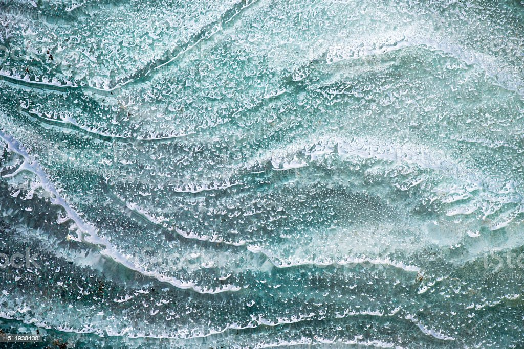 Green Glass Textures by Burned Process stock photo