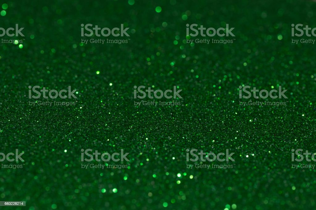 Green glitter background 免版稅 stock photo