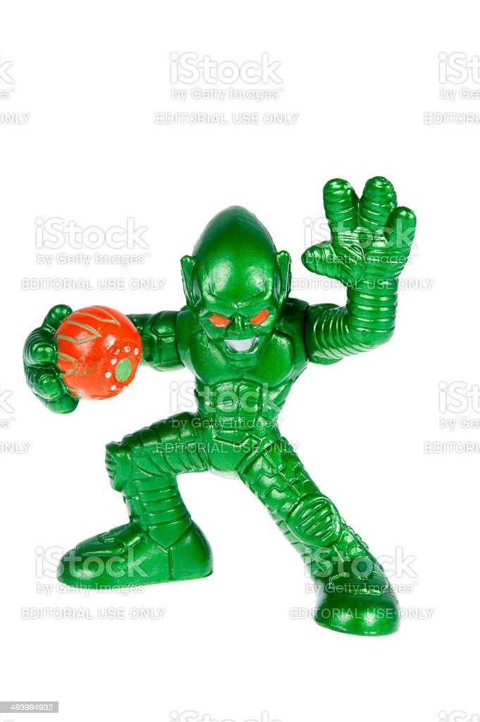 Green Goblin Action Figure stock photo