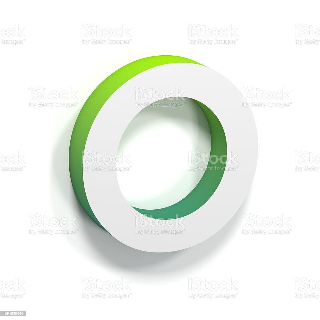 Green gradient and soft shadow letter o stock photo more green gradient and soft shadow letter o royalty free stock photo buycottarizona
