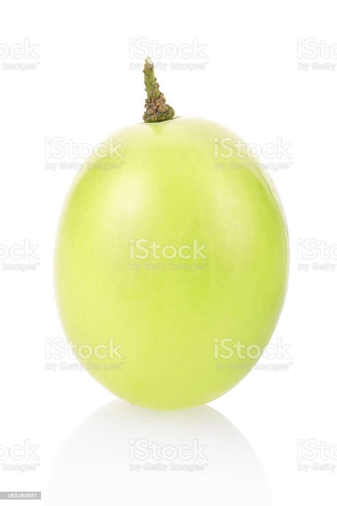 Green grape berry royalty-free stock photo