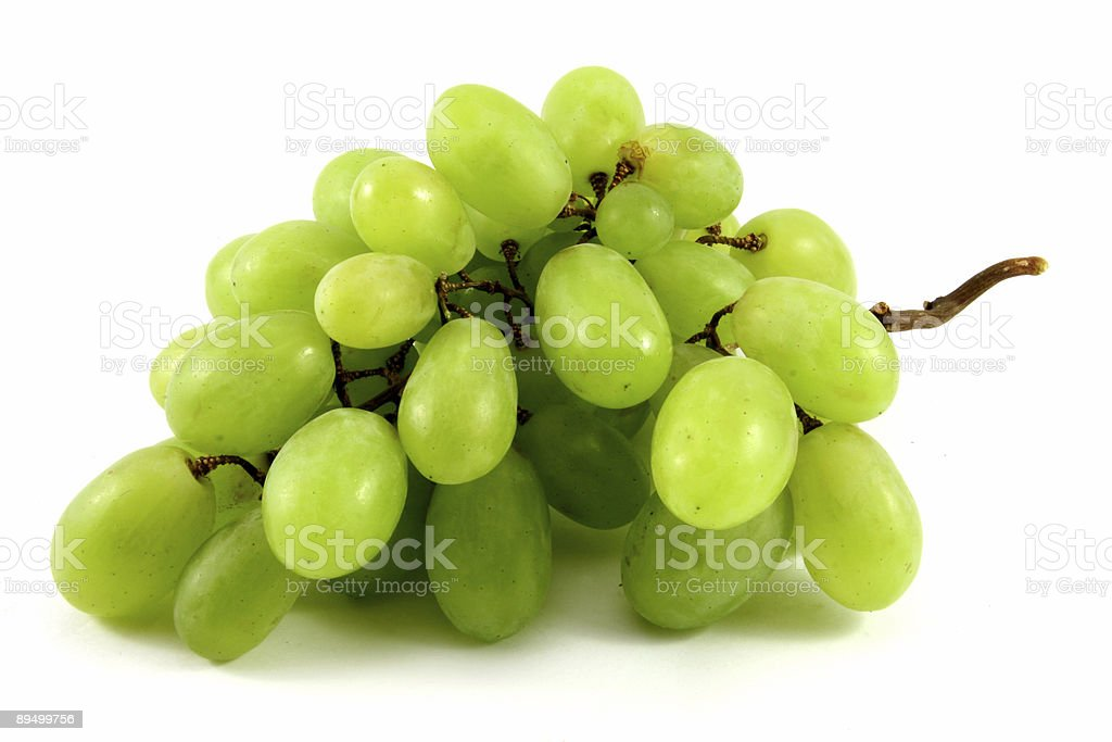 green grape royaltyfri bildbanksbilder