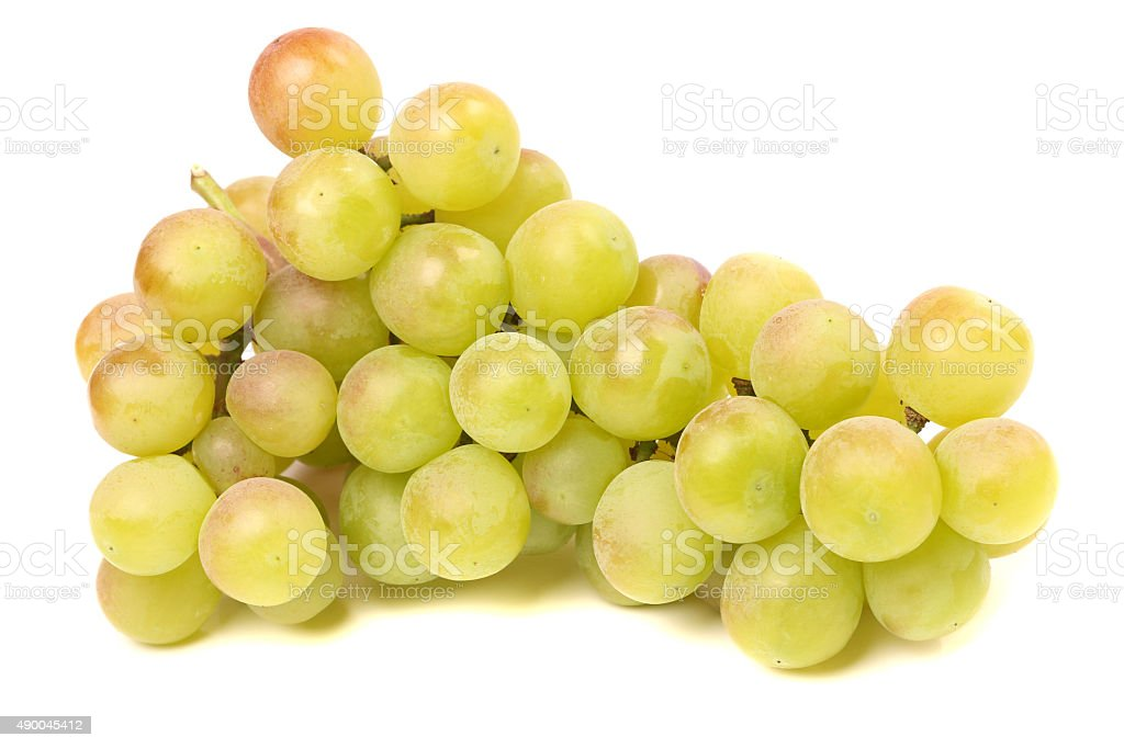 green grapes stock photo