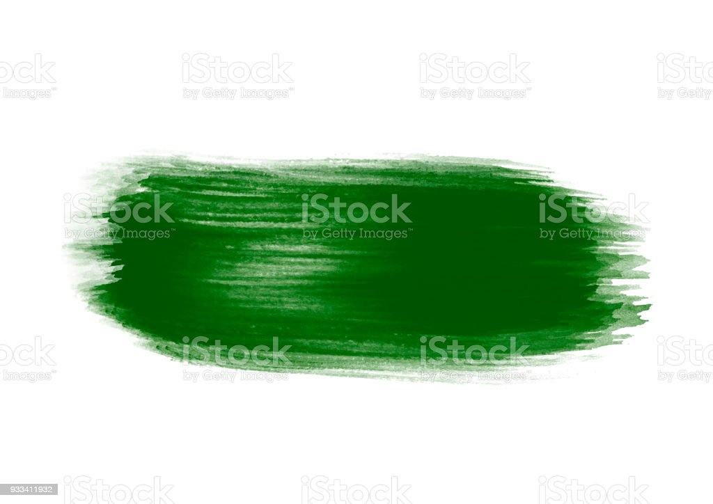 Green graphic color graphic color brush strokes patches effect stock photo
