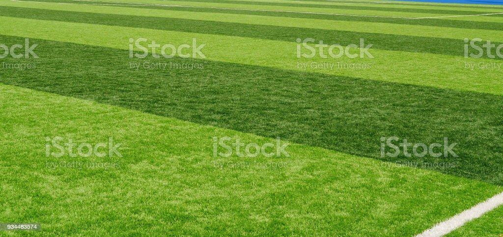 Grasgrün Hintergrund mit Streifen – Foto