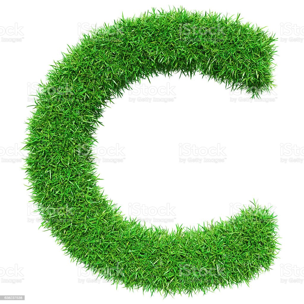 Green Grass Letter C Stock Photo & More Pictures of ...