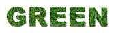 Green Grass Lettering