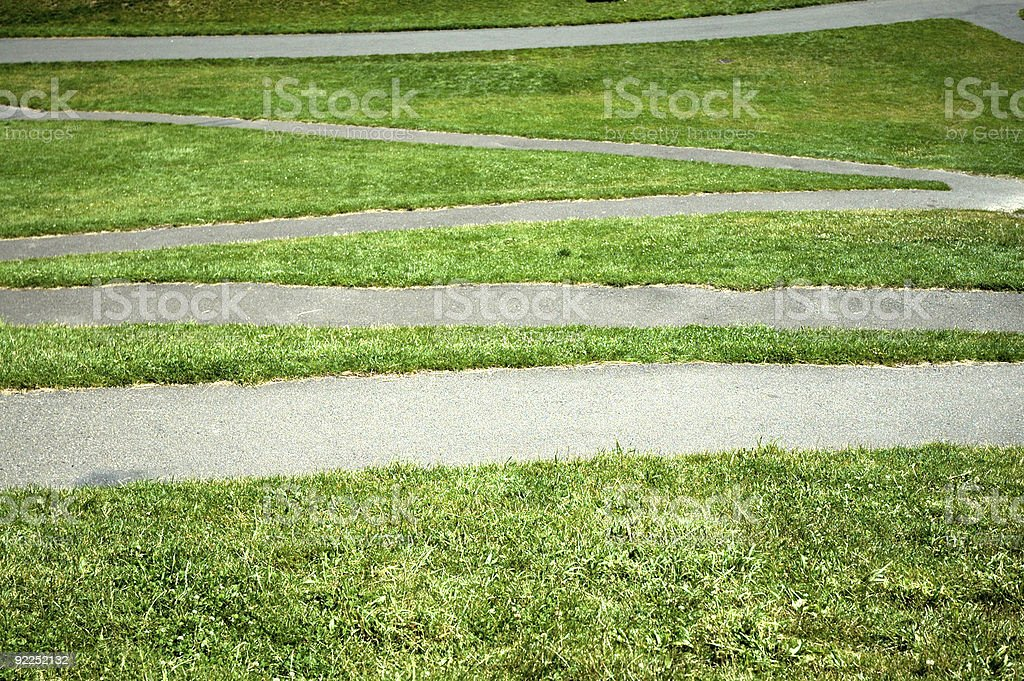 Green Grass Pattern 1 stock photo