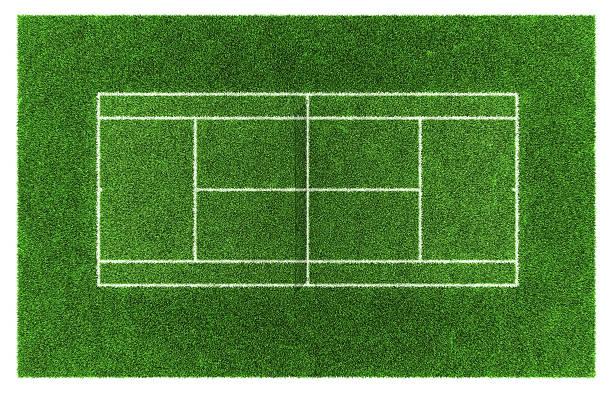 Tennis grass court – Foto