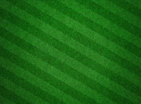 Green grass textured background with stripes